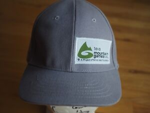 3b914c14e Teva Mountain Games Vail Gray Baseball Cap Hat Size l  XL stretch ...