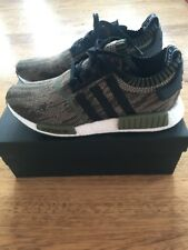 best loved 0c1de 62b29 Adidas NMD R1 Primeknit Al Camo Olive Cargo Black Size 10.5 CQ1864 ONLY 900  made