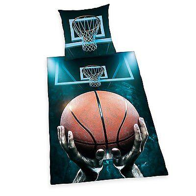 GüNstiger Verkauf Herding Kinder Bettwäsche Basketball Renforce 80/80 135/200 Neu Bettwaren, -wäsche & Matratzen Bettwäsche