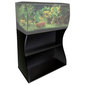 Fluval Flex 123l Marine Black Aquarium Stand Reef Fish Tank Filter Lighting Ebay