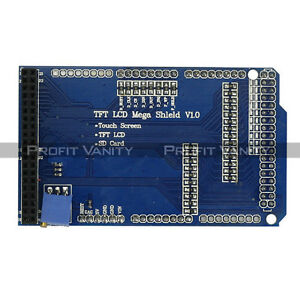 Neu-SainSmart-TFT-LCD-Adjustable-Shield-for-Arduino-Mega-2560-R3-1280-A082-Plug