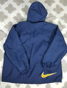 f635ad2739 Nike Air Vintage Big Swoosh Hoodie Windbreaker Jacket Mens sz XL 90s ...