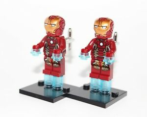 Iron-Man-Marvel-Super-heros-Boutons-De-Manchette-Boutons-de-manchette-nouveaute-cadeau-de-mariage