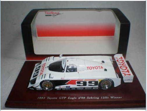 Toyota GTP Eagle - J. Fangio jr Wallace - 1st 12h Sebring 1993  99 - TrueScale