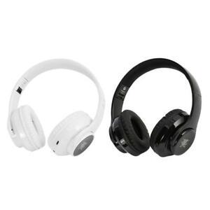 Wireless bluetooth Headphone Earphone Phone Headset Foldable Stereo Heavy Bass