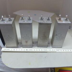 1x 2uf 500V NOS Vintage Kondensator Capacitor KLANGFILM Oil Paper Siemens
