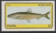GB Locals - Staffa 3510 - 1979  FISH imperf souvenir sheet unmounted mint
