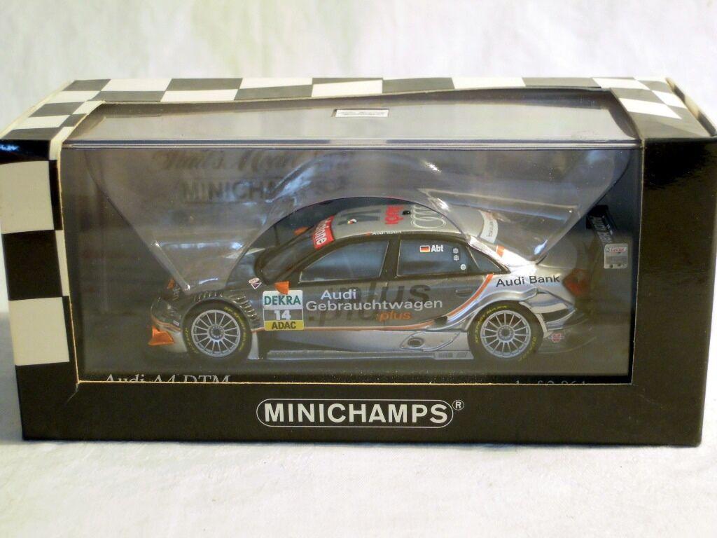 Minichamps 400051414: AUDI a4, DTM 2005, team Joest  14 C. Abate, NUOVO & OVP