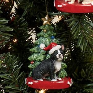 French Bulldog Christmas Ornament.Details About French Bulldog Christmas Ornament Multi Warm
