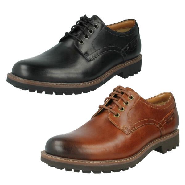 2019 úLtimo DiseñO Hombre Clarks Casual De Piel Con Cordones Elegante Derby Zapatos Formales Talla Resistente Al Agua, A Prueba De Golpes Y AntimagnéTico