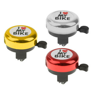 Premium Cycling Bike Bicycle Bell Ring  Horn Safety Sound Alarm New BT ELE