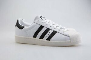 finest selection e5bc4 65fe7 Image is loading BZ0202-Adidas-Men-Superstar-Boost-white-core-black-