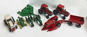 1-64-Tractors-Machinery-amp-Implements-John-Deere-Case-IH-International