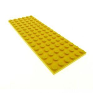 1x-Lego-Bau-Platte-gelb-16x6-Set-3678-3681-350-6334-3027