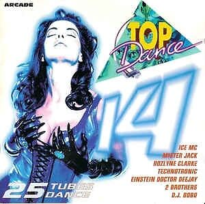 Compilation-CD-Top-Dance-14-France-EX-EX