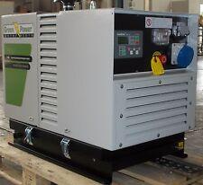 STROMAGGREGAT STROMERZEUGER 12.1 kVA GREEN POWER GP12000 ST/KG-A LPG GAS 400V