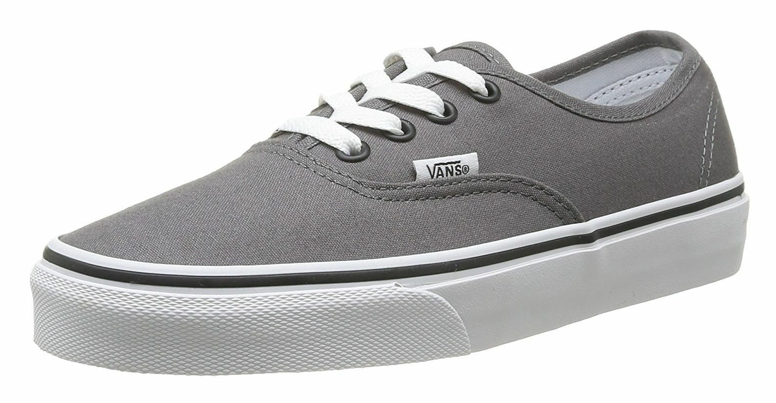 Vans Authentic Classic Pewter Black Womens Sneakers Sneakers Sneakers Tennis shoes 1b9d94