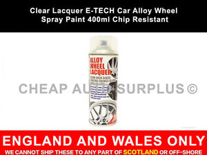Clear-Lacquer-E-TECH-Car-Alloy-Wheel-Spray-Paint-400ml-Chip-Resistant