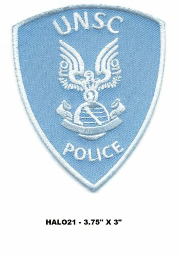 HALO21 HALO UNSC POLICE PATCH