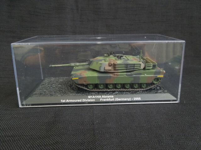 M1A1HA Abrams 1st. A.D. Frankfurt 2005 Diecast ALTAYA / IXO 1:72