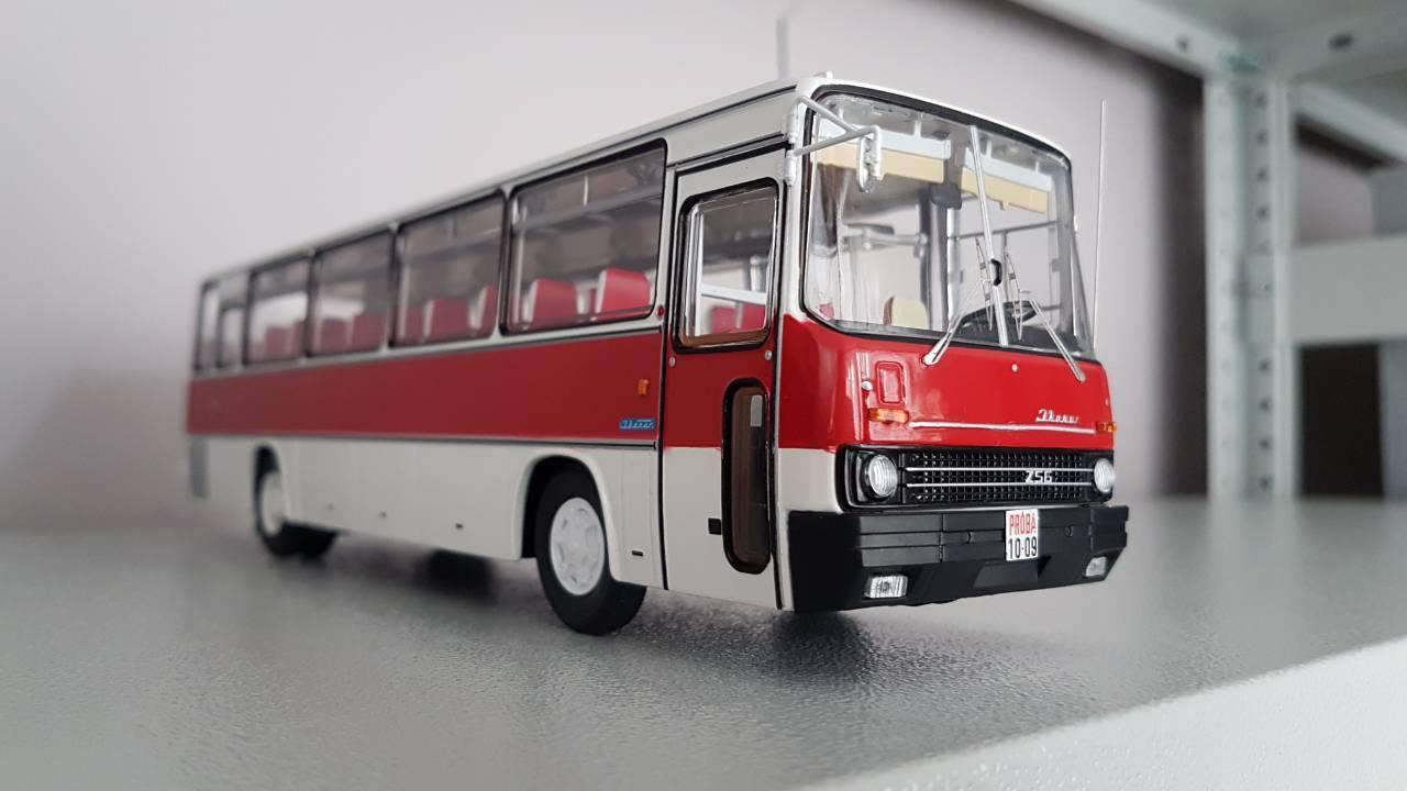 El nuevo outlet de marcas online. Ikarus - 256.51 blancoo Rojo Oscuro 1 43 classicbus Rara Rara Rara   nueva gama alta exclusiva