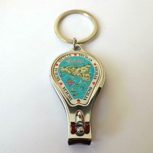 47 V Key Chains Nail clippers bottle opener SICILY