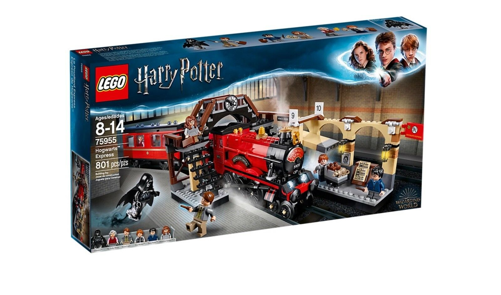 LEGO Harry Potter Hogwarts Express Set 75955 2018 Set Nuovo In Box Free Shipping