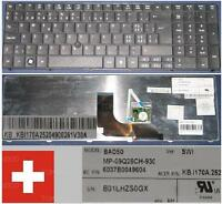Tastatur Qwertz Swiss ACER TravelMate 6594G BAD50 MP-09Q26CH-930 KB.I170A.252