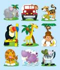 Jungle Prize Pack Stickers 9781609960643 Cards