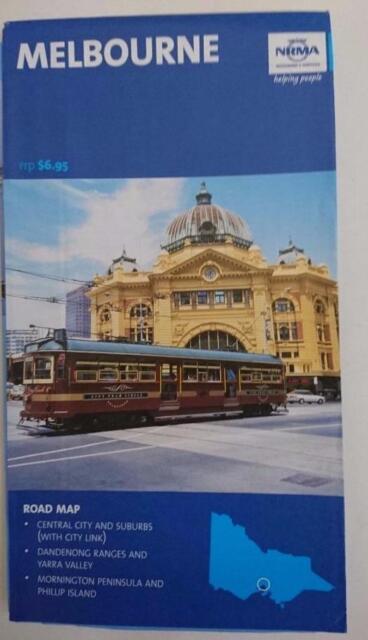 2004 NRMA  Map   - Melbourne