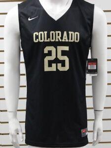 Da Senza Uomo Basket Colorado Nike Drifit marrone Nero Maniche Nuovo 25 Maglia Wgg0R6xU
