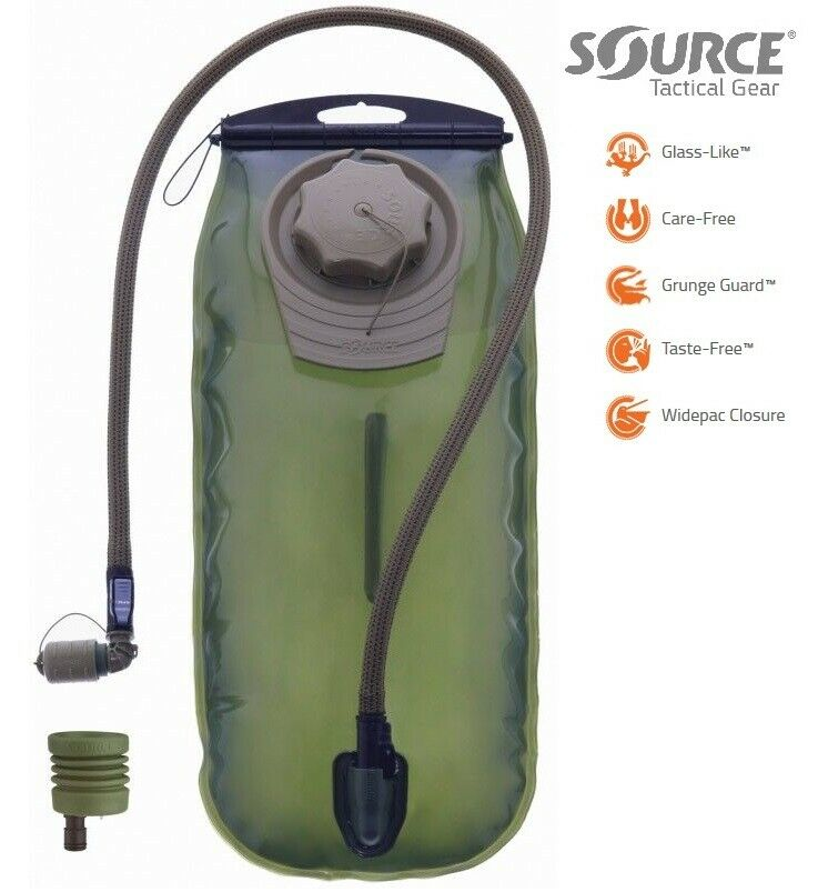 SOURCE WXP HYDRATION UPGRADE KIT LOW PROFILE TACTICAL RESERVOIR 3L + UTA ADAPTER