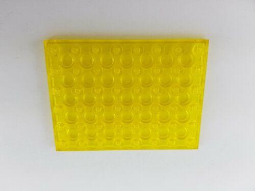Lego® Platte transparent gelb 6x8 Noppen 3036