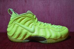 the latest 1fdb8 72e52 Details about WORN TWICE Nike Air Foamposite One Pro Volt Yellow 624041-700  Size 12