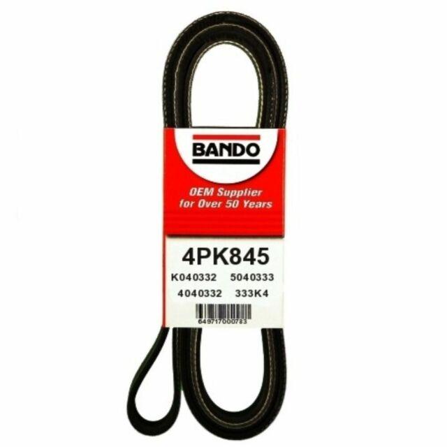Serpentine Belt-LX Bando 4PK845
