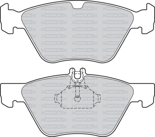 3.2 SLK320 218 BHP 1999-04 OEM SPEC FRONT REAR PADS FOR MERCEDES SLK R170