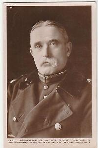 Antique-WW1-Field-Marshall-Sir-John-DP-French-POSTCARD-World-War-I-EARL-OF-YPRES