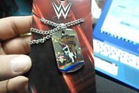 Wwe The Day Dog Tag Pendant Necklace Official Wwe