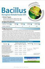 Thuricide Bt Bacillus Thuringiensis 32000 IU/mg 25g 2bags (=50g)