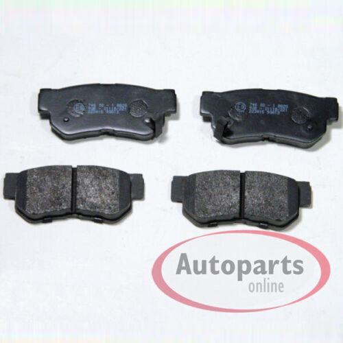Bremsscheiben Bremsen Bremsbeläge für hinten die Hinterachse Hyundai Trajet