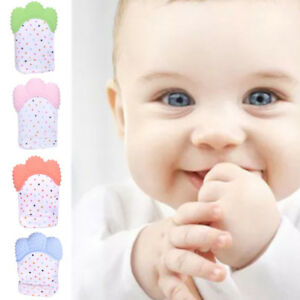 Baby-Teether-Silicone-Mitts-Teething-Mitten-Glove-Candy-Wrapper-Sound-Toy-Gifts
