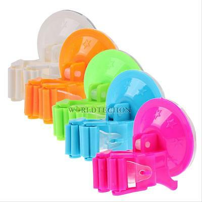 Mop Broom Suction Cup Holder Wall Mounted Vacuum Hanger House Organizer Storage