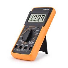 True Rms Professional Digital Multimeter Ac Dc Transistor Tester Manual Range