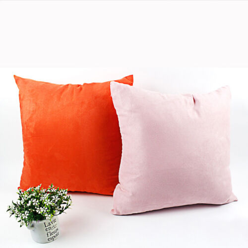 Pillow Case Office Home Car Sofa Decoration Multi Color Soft Cushion Cover