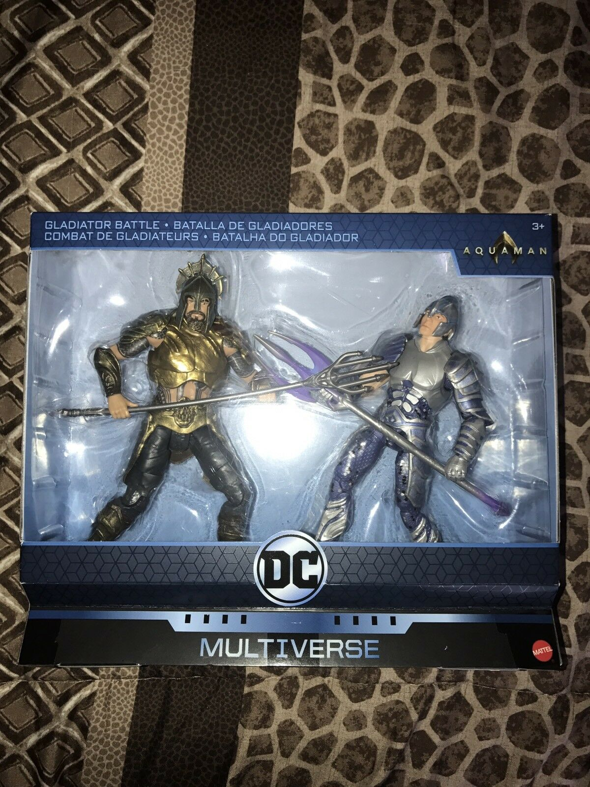 Aquaman VS Orm Gladiator battle Exclusive DC Multiverse 6  Action Figures