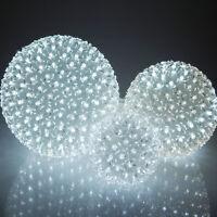 Led Flower Ball Lamp Lights, White Glow