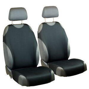 Sitzbezüge schwarz vorne KOS KIA SORENTO
