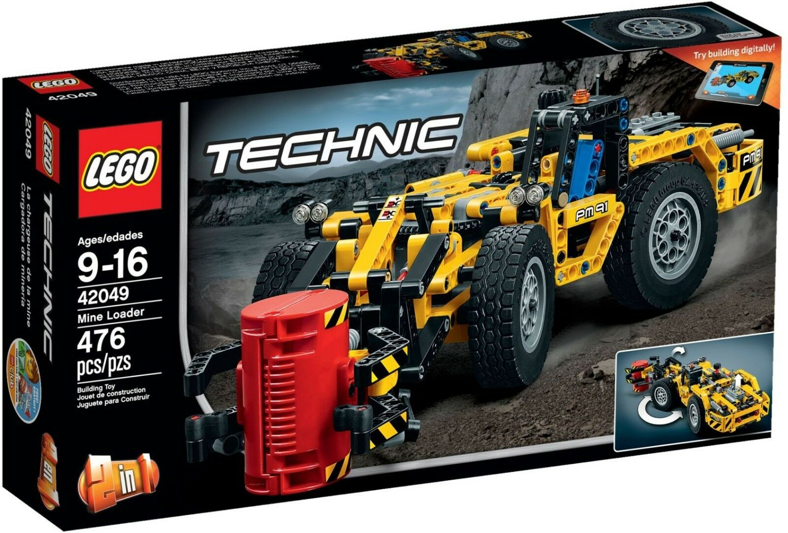 Lego 42049 Technic Mine Loader BRAND NEW