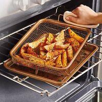Nib Copper Chef 11 Quot Casserole Pan W 5 Piece Cooking