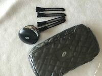 T3 Quilted Bag, Compact Mirror And 4 Sectioning Clips